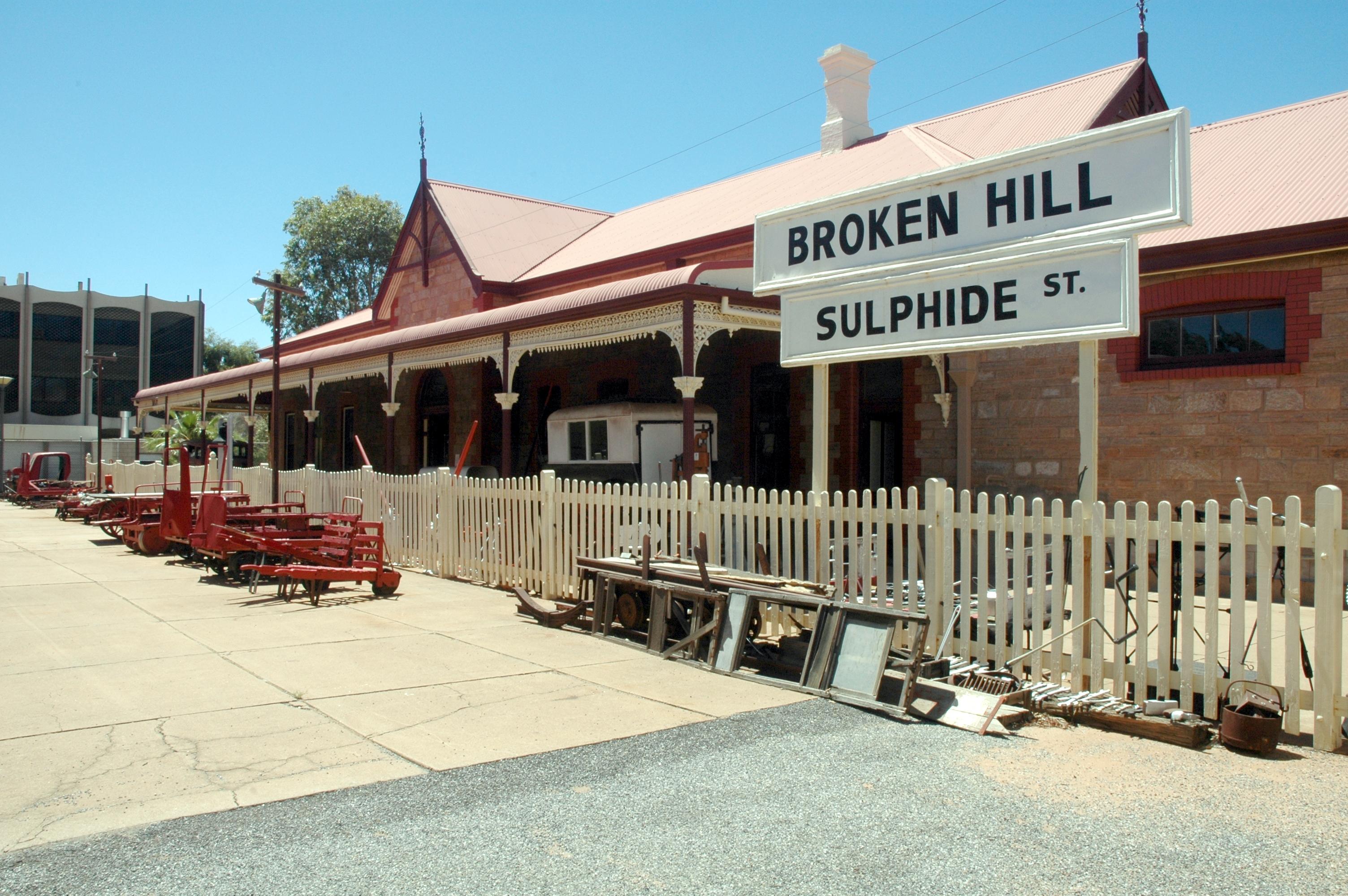 Sulphide Street Railway Station